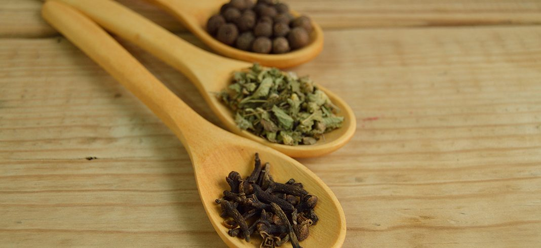 Dry roasted spices